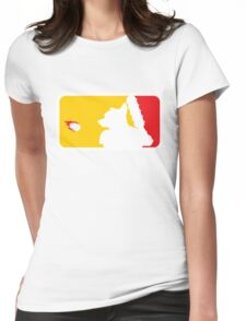 Major League Whack-Bat Womens Fitted T-Shirt