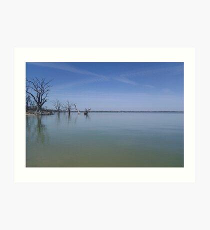 Lake Bonney, SA Art Print