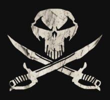 Under A Black Flag One Piece - Short Sleeve
