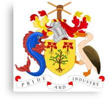 Barbados Coat of Arms  Canvas Print