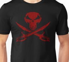 Under A Black Flag  - Red Sky Unisex T-Shirt