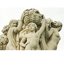 Sculptures In The Jardins Du Trocadero - 1 ©  Photographic Print