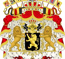 Belgium Coat of Arms  by abbeyz71