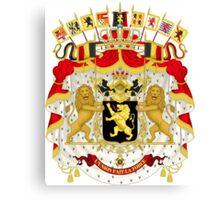 Belgium Coat of Arms  Canvas Print