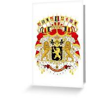 Belgium Coat of Arms  Greeting Card