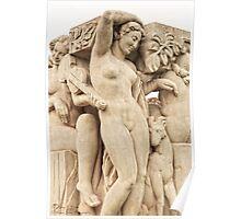 Sculptures In The Jardins Du Trocadero - 2 © Poster