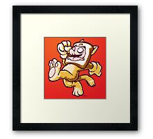 Plumber-Breading Framed Print