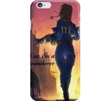 "Fallout 4 Girl ""Wanderer"" iPhone Case/Skin"