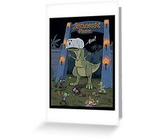 Jurassic Park Halloween Greeting Card