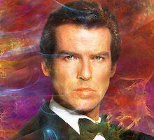 Bond, James Bond 5 (Square Version) - By John Robert Beck by studiobprints