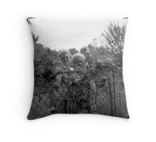 Grace and Lucy Throw Pillow