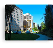 Corporate playground Canvas Print