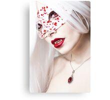 Drops of Blood Canvas Print