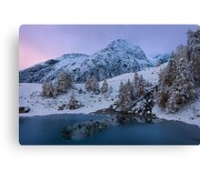 Top of the Lake Canvas Print