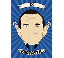 Doctor Who Portraits - Ninth Doctor - Fantastic Photographic Print