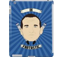 Doctor Who Portraits - Ninth Doctor - Fantastic iPad Case/Skin
