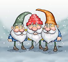 Devo Gnomes by Nesshead