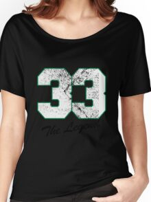 Celtics Number - No. 33 Women's Relaxed Fit T-Shirt