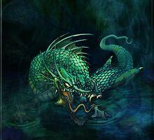 swamp dragon by mslisko