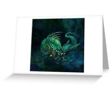 swamp dragon Greeting Card