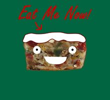 Eat Christmas Fruitcake Womens Fitted T-Shirt