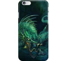 swamp dragon iPhone Case/Skin