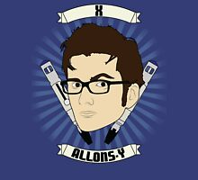 Doctor Who Portraits - Tenth Doctor - Allons-y Unisex T-Shirt