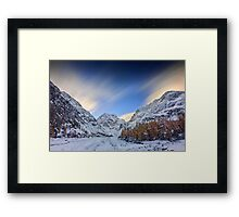 End of Voyage Framed Print
