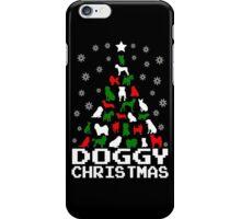 Doggy Christmas Tree iPhone Case/Skin