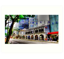 Orchard Road Singapore Art Print