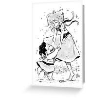 Steven & Lapis Greeting Card