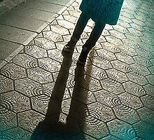 Barcelona Footpath by Winstonian