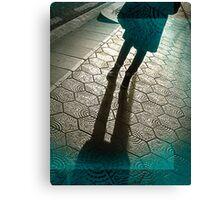 Barcelona Footpath Canvas Print