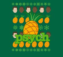 Psych TV Show Shawn Gus Pineapple Holiday Theme Unisex T-Shirt