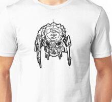 One Line Predator Portrait Unisex T-Shirt
