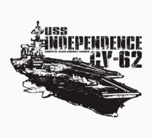 USS Independence CV-62 by deathdagger