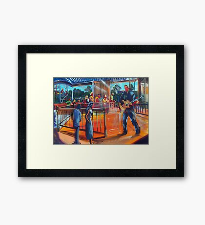 Sydney Blues and Roots Festival 2013 Framed Print