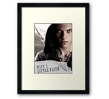Have a little faith Framed Print