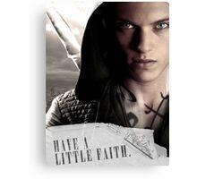 Have a little faith Canvas Print