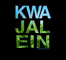 Kwajalein (Device Case - Black) by aeng104