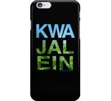 Kwajalein (Device Case - Black) iPhone Case/Skin