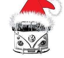 VW Camper Christmas hat by splashgti
