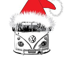 VW Camper Christmas hat by splashgti