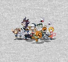 Halloween Characters Comic Unisex T-Shirt