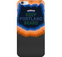 Keep Portland Beard iPhone Case/Skin