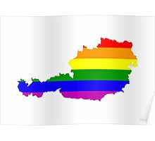 austria gay map Poster