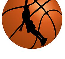 Basketball Dunk Silhouette by kwg2200