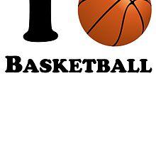 I Heart Basketball by kwg2200