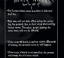 Death note by yoshis