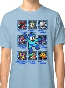 Mega Man NES Nintendo 8-Bit  Classic T-Shirt